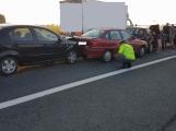 Aktuálně: Hromadná dopravní nehoda si vyžádala zranění