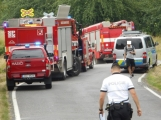 Právě teď: Na Příbramsku vlak smetl osobní auto, řidič na místě zemřel