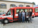 Hasiči z Rožmitálu pod Třemšínem převzali nové vozidlo
