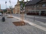 Stromy na náměstí TGM – na kolik vyšly a jak dlouho bude náměstí rozkopané? Na otázky odpověděl starosta Příbrami Ing. Jindřich Vařeka