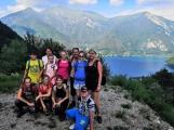 Čtyřicet pět žáků Základní školy 28. října navštívilo údolí Valle di Ledro