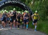 V okolí Dobříše se běžel a plaval první český swimrun