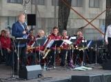 Náměstí T. G. Masaryka se zaplnilo i v neděli. Příbramský Big Band zahájil kulturní léto