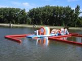 Super atrakce pro děti! Vodní prolézačka na Nováku