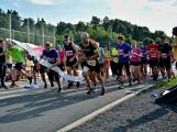 Olympijský běh navštívil Příbram, na startu stanulo přes 60 běžců