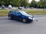 Zásah ZZS si vyžádala aktuálně dopravní nehoda v Příbrami