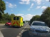 Na Evropské ulici v Příbrami právě srazilo auto chodce na přechodu