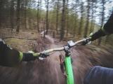 Nad drkolnovským sídlištěm vzniká cyklo–trailová trať