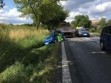 Svou daň si zřejmě vybírá úmorné vedro, řidička usnula za volantem