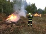 Aktuálně: Požár skládky povolal hasiče