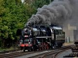Nejednalo se o požár, ale Příbramí projel parní vlak