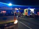 Aktuálně: Nehoda motocyklu si vyžádala dvě zraněné osoby