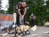 Příbramáky čeká závod sportovních dřevorubců