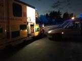Aktuálně: Cyklista při dopravní nehodě utrpěl zranění, momentálně je v péči záchranářů