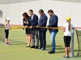 Hvožďany v sobotu otevřely nové multifunkční hřiště