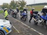 Preventivně dopravní akce se zaměřila na motorkáře a řidiče, kteří se nevěnují řízení