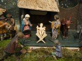 Ve výstavní síni Valdštejnského paláce najdete i betlém z Příbramska