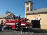Březohorská hasičská zbrojnice má pro vás dnes dveře otevřené dokořán