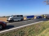 Aktuálně: Strakonická opět v problémech, došlo zde ke srážce dvou vozidel