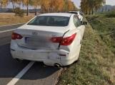 Dopravní nehoda dvou vozidel omezuje provoz na silnici číslo 66