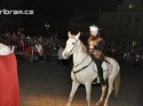 V neděli přijede do Příbrami Martin na bílém koni