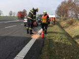 Aktuálně: Dopravní nehoda komplikuje provoz u Milína