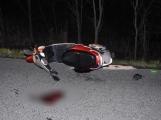 Aktuálně: Řidička skútru nezvládla řízení, zraněnou transportují do nemocnice
