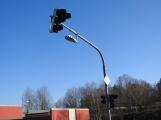 U Kauflandu probíhá aktivní výměna světelné signalizace