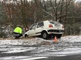 ON-LINE: Na Příbramsku napadl první sníh, jen v regionu došlo k několika dopravním nehodám