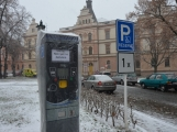U Zámečku se instalují parkovací automaty