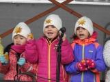 Páteční den patřil na náměstí převážně dětem