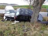 Aktuálně: Vážná nehoda na Příbramsku, na místo spěchal vrtulník