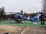 Škoda na policejním vrtulníku by měla být určena do konce týdne