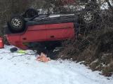 Aktuálně: Dopravní nehoda uzavřela silnici na Březnici
