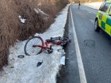 Aktuálně: U Bohutína byl sražen cyklista!