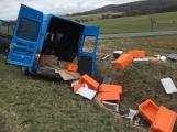 Aktuálně: U Felbabky přistál po dopravní nehodě vrtulník