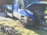 U Felbabky došlo k vážné nehodě, pro zraněného přilétl vrtulník