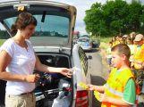 """Děti v Bohutíně """"pokutovaly"""" řidiče"""