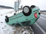 Únorové nehody obrazem
