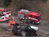 Na rychlostní silnici R4 včera přišli o život dva lidé, komunikace byla uzavřena