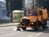 Pozimní úklid čeká i ulice ve správě kraje