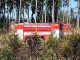 Hasiči likvidovali požár na Padáku