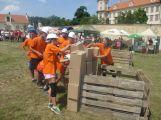 Na Hrách bez hranic v Mníšku bodovaly i obce z Příbramska