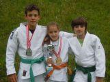 Mladá příbramská judistka vyhrála na turnaji v Grazu