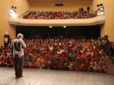Studenti Gymnázia pod Svatou Horou vyprodali velkou scénu divadla