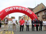 Krásná Hora nad Vltavou má nově zrekonstruovaný průtah městem