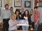Lucie Leišová vybrala svou plavbou téměř 150 tisíc korun
