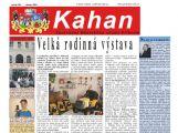 Kahan bude tisknout brněnská firma Samab Press