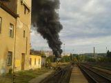 U nádraží hořelo, příčinou byli bezdomovci nebo dětská hra