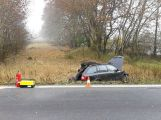 Hromadná nehoda uzavřela silnici u Chraštic